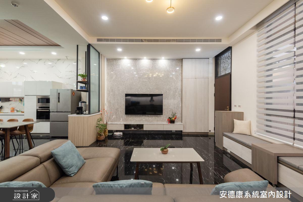 53坪新成屋(5年以下)_混搭風案例圖片_安德康系統室內設計_安德康_131之1