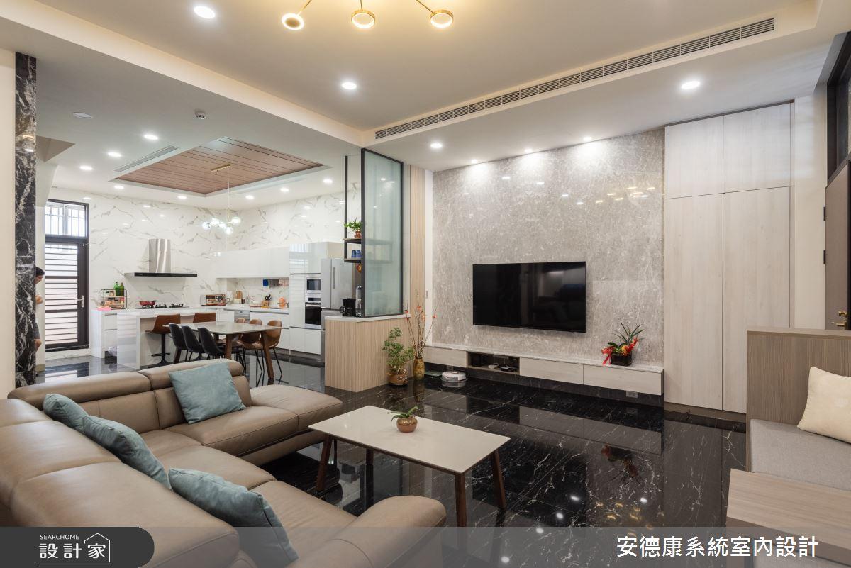 53坪新成屋(5年以下)_混搭風案例圖片_安德康系統室內設計_安德康_131之2