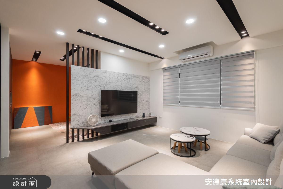 58坪新成屋(5年以下)_混搭風案例圖片_安德康系統室內設計_安德康_134之4