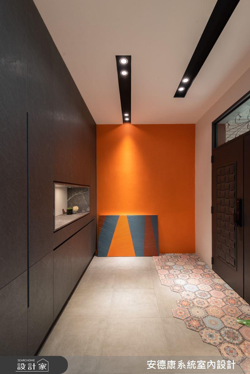 58坪新成屋(5年以下)_混搭風案例圖片_安德康系統室內設計_安德康_134之1