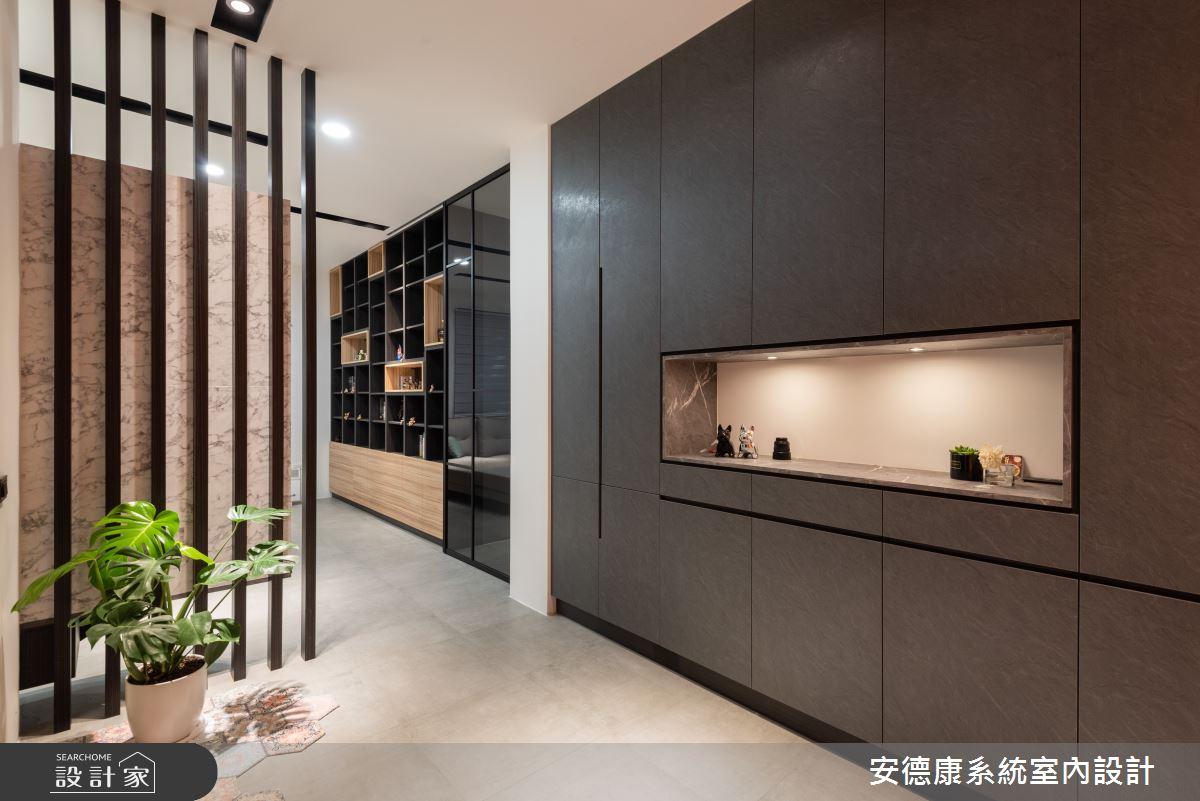 58坪新成屋(5年以下)_混搭風案例圖片_安德康系統室內設計_安德康_134之2