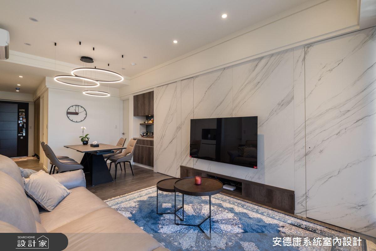 48坪新成屋(5年以下)_混搭風案例圖片_安德康系統室內設計_安德康_135之4