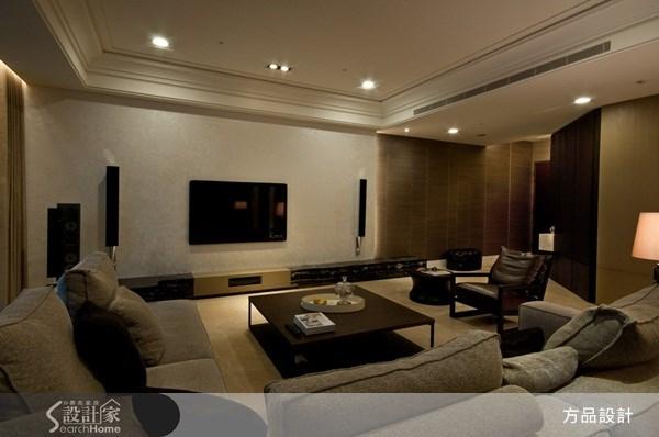 60坪新成屋(5年以下)_奢華風客廳案例圖片_方品室內裝修設計工程有限公司_方品_05之3
