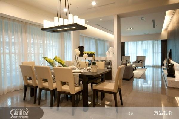 135坪預售屋_現代風餐廳案例圖片_方品室內裝修設計工程有限公司_方品_08之4