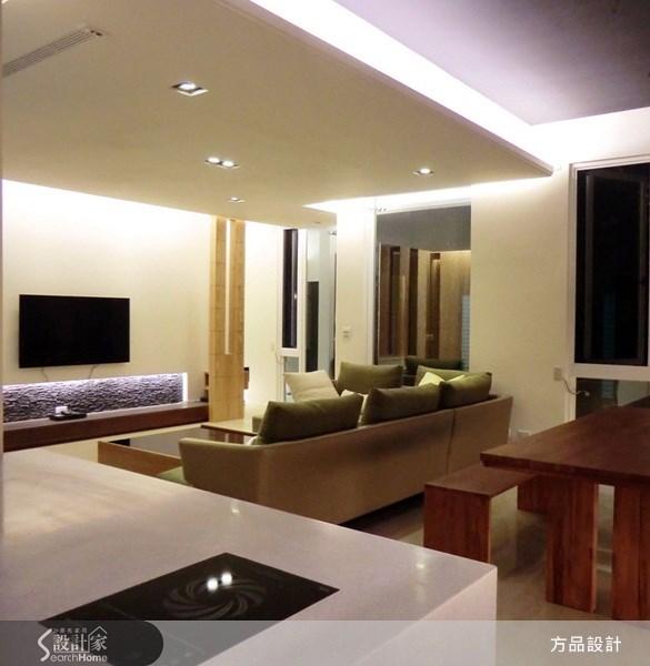45坪新成屋(5年以下)_北歐風客廳案例圖片_方品室內裝修設計工程有限公司_方品_10之5