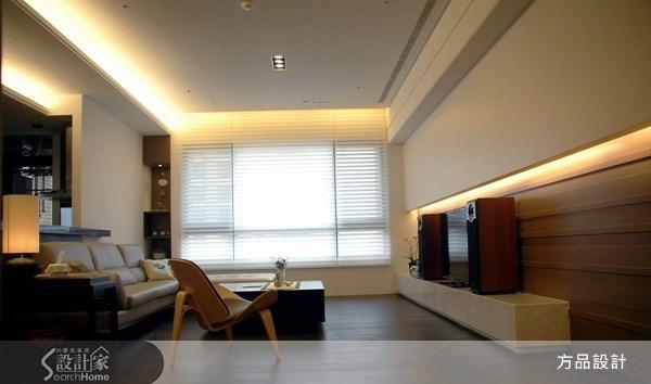 45坪新成屋(5年以下)_人文禪風客廳案例圖片_方品室內裝修設計工程有限公司_方品_11之2
