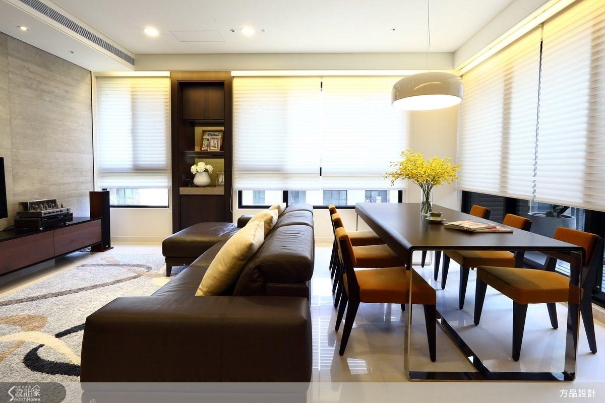30坪新成屋(5年以下)_現代風餐廳案例圖片_方品室內裝修設計工程有限公司_方品_14之2