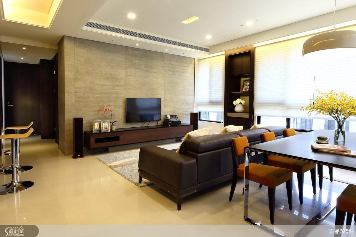 30坪新成屋(5年以下)_現代風客廳案例圖片_方品室內裝修設計工程有限公司_方品_14之4
