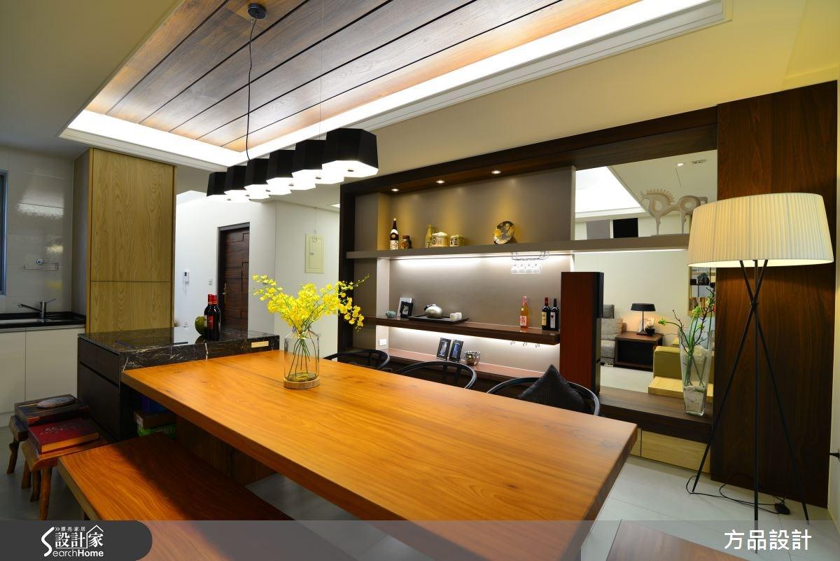 46坪新成屋(5年以下)_現代風餐廳案例圖片_方品室內裝修設計工程有限公司_方品_17之4