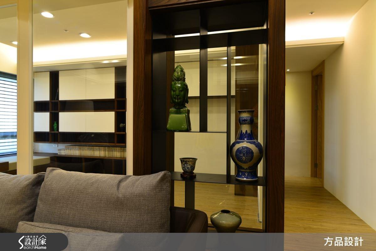 40坪中古屋(5~15年)_現代風客廳案例圖片_方品室內裝修設計工程有限公司_方品_18之4