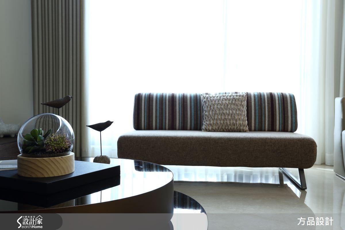 48坪新成屋(5年以下)_現代風客廳案例圖片_方品室內裝修設計工程有限公司_方品_20之3