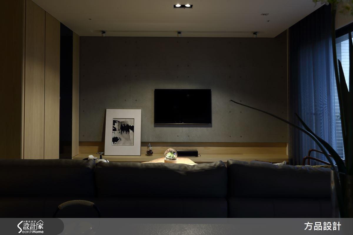 40坪新成屋(5年以下)_休閒風客廳案例圖片_方品室內裝修設計工程有限公司_方品_22之4