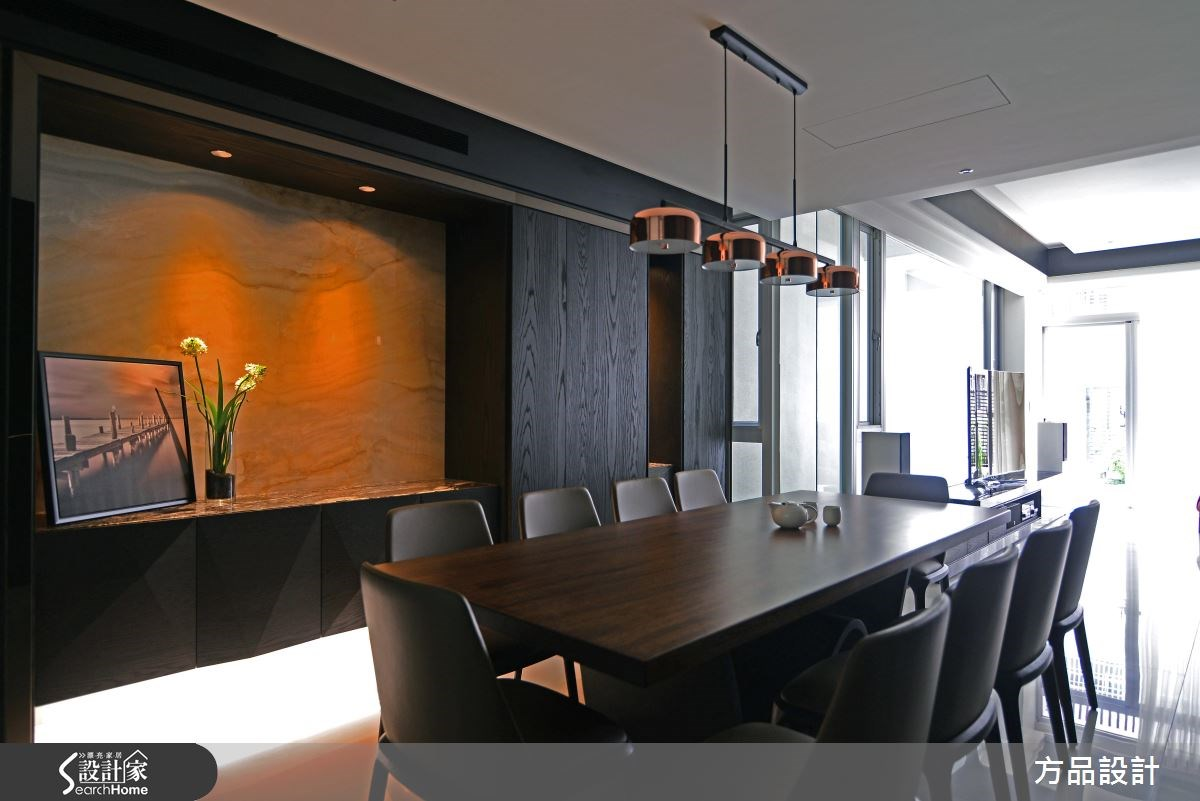 100坪新成屋(5年以下)_現代風案例圖片_方品室內裝修設計工程有限公司_方品_24之8