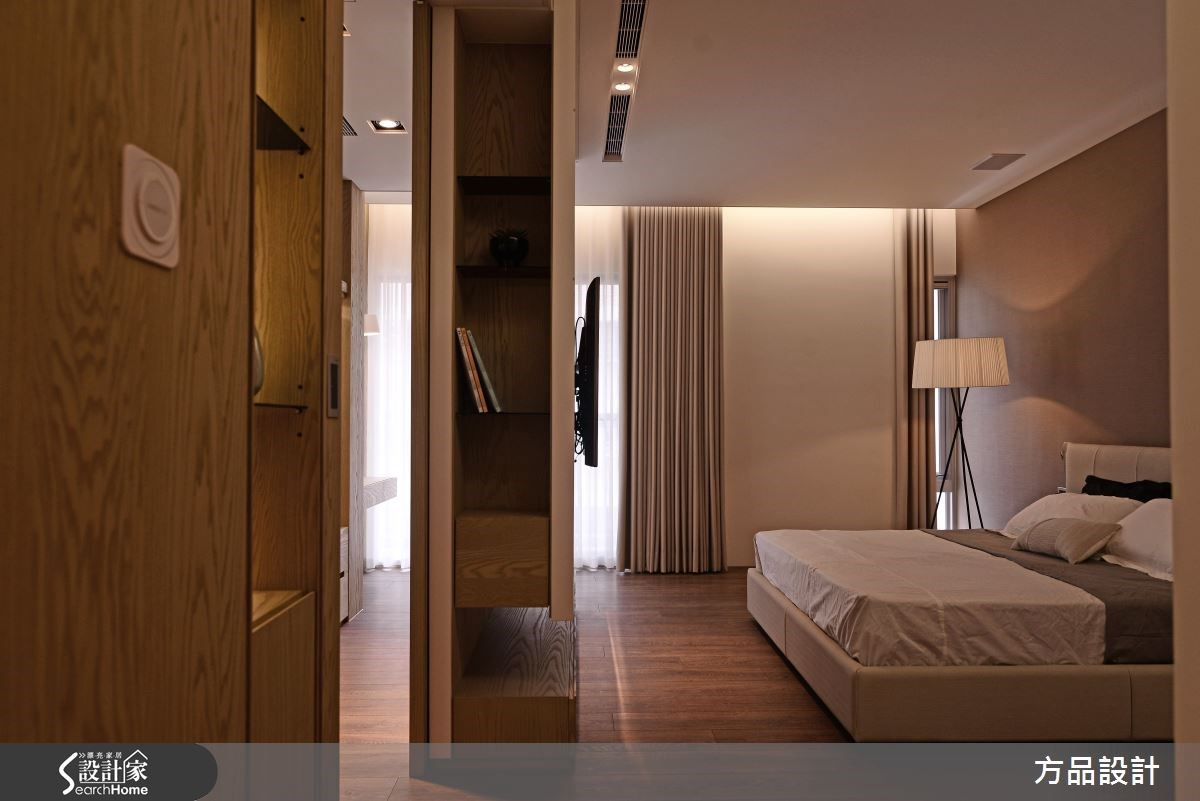 100坪新成屋(5年以下)_現代風案例圖片_方品室內裝修設計工程有限公司_方品_24之14