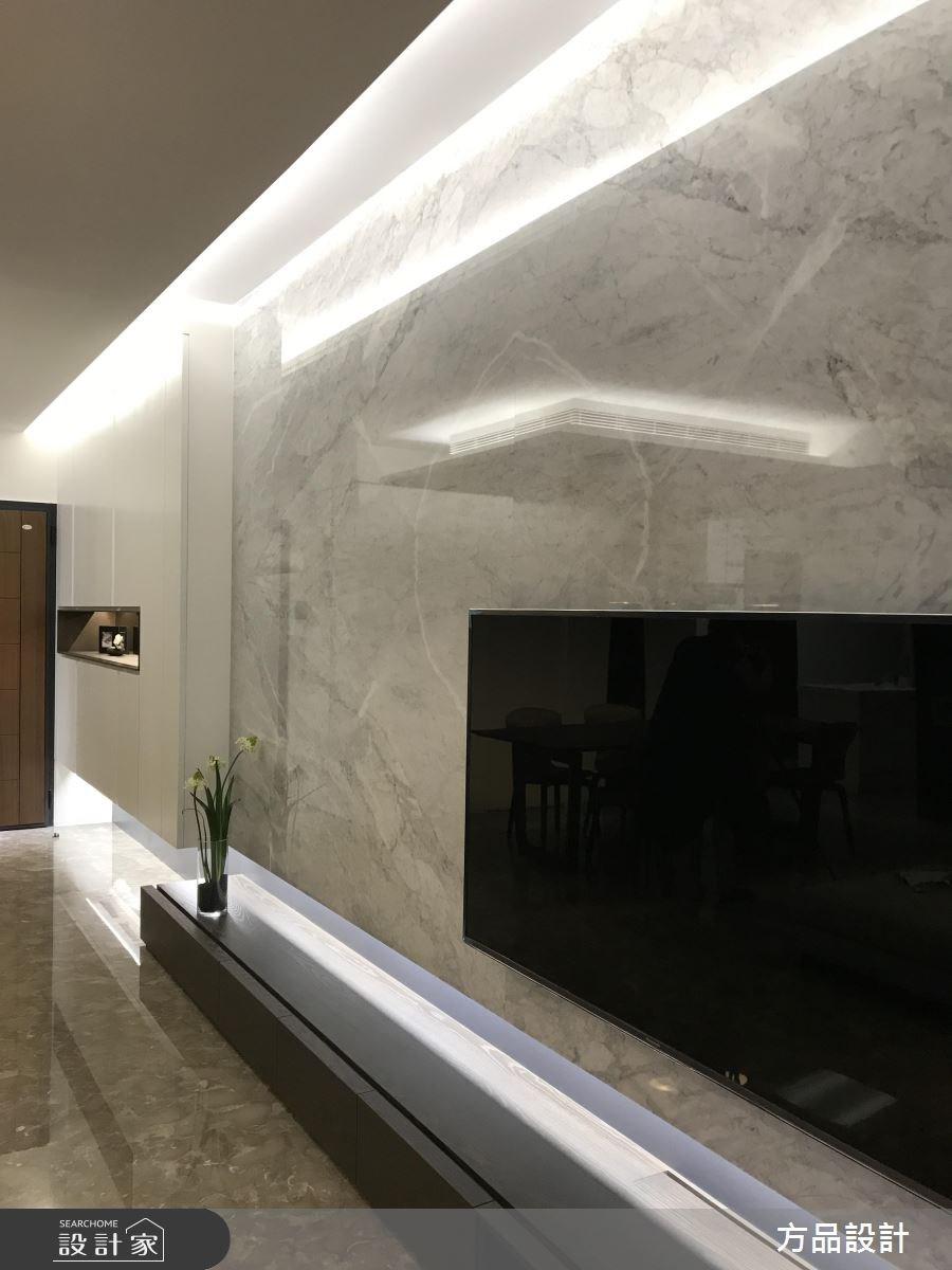 35坪新成屋(5年以下)_現代風客廳案例圖片_方品室內裝修設計工程有限公司_方品_25之3