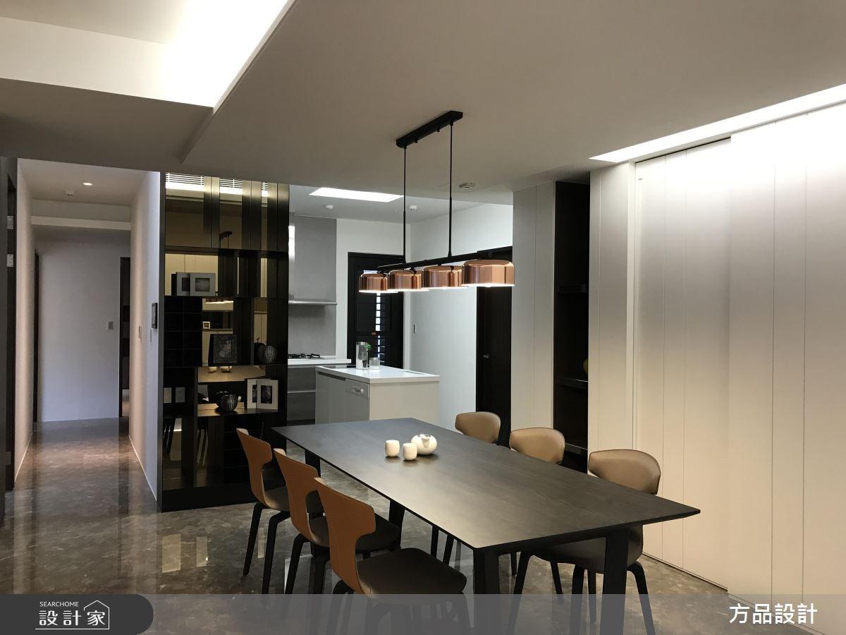 35坪新成屋(5年以下)_現代風餐廳案例圖片_方品室內裝修設計工程有限公司_方品_25之4