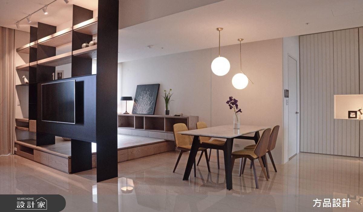 40坪新成屋(5年以下)_現代風餐廳案例圖片_方品室內裝修設計工程有限公司_方品_26之4