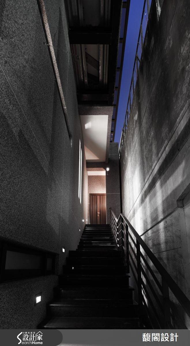186坪_混搭風樓梯案例圖片_FUGE GROUP 馥閣設計集團_馥閣_角度之2