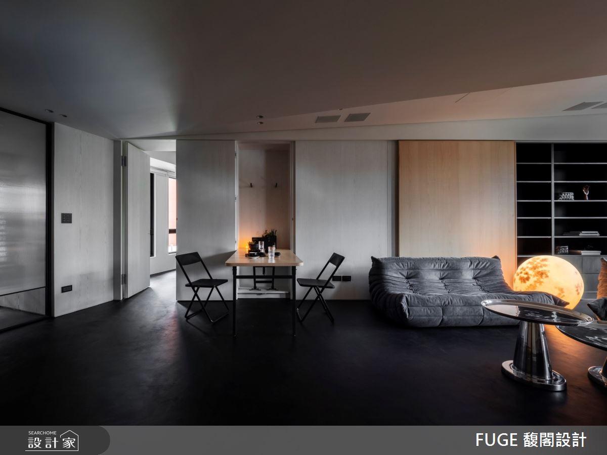 新成屋(5年以下)_現代風客廳案例圖片_FUGE GROUP 馥閣設計集團_馥閣_地球上的太空之3