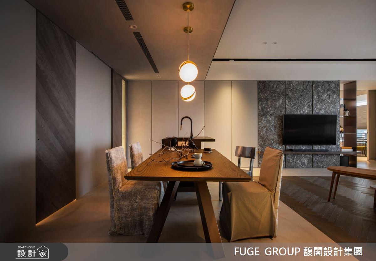 56坪新成屋(5年以下)_現代風餐廳案例圖片_FUGE GROUP 馥閣設計集團_馥閣_從心開始 Mind Craft之4