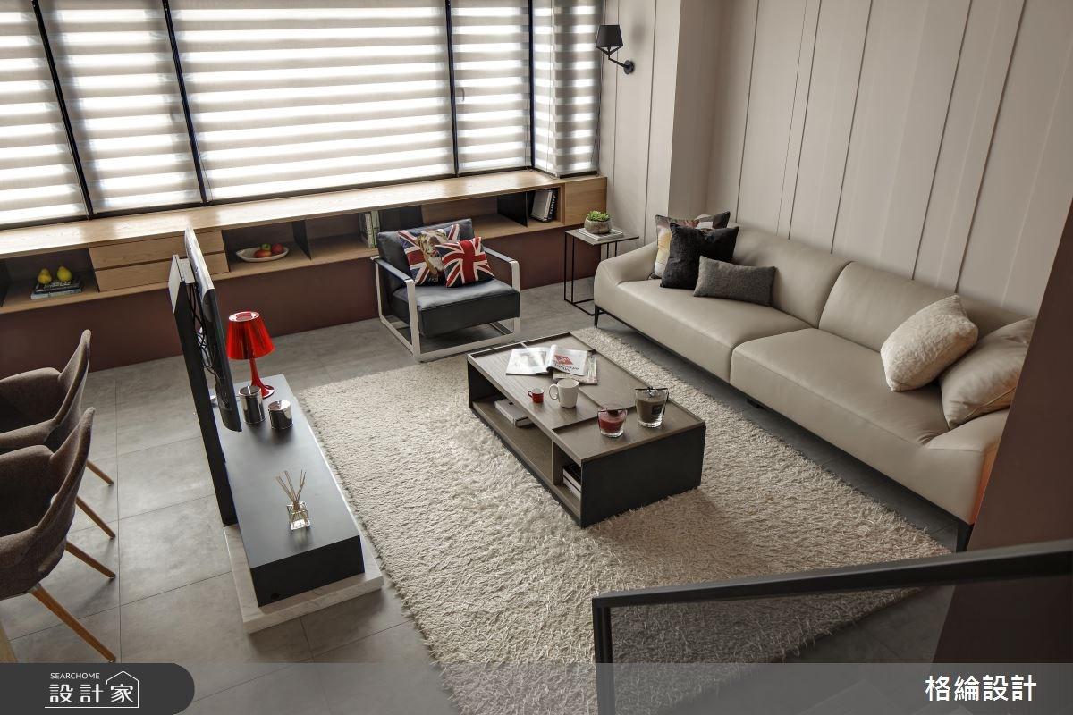 28坪老屋(16~30年)_簡約風客廳案例圖片_格綸設計 Guru Interior Design Consultant_格綸_14之2