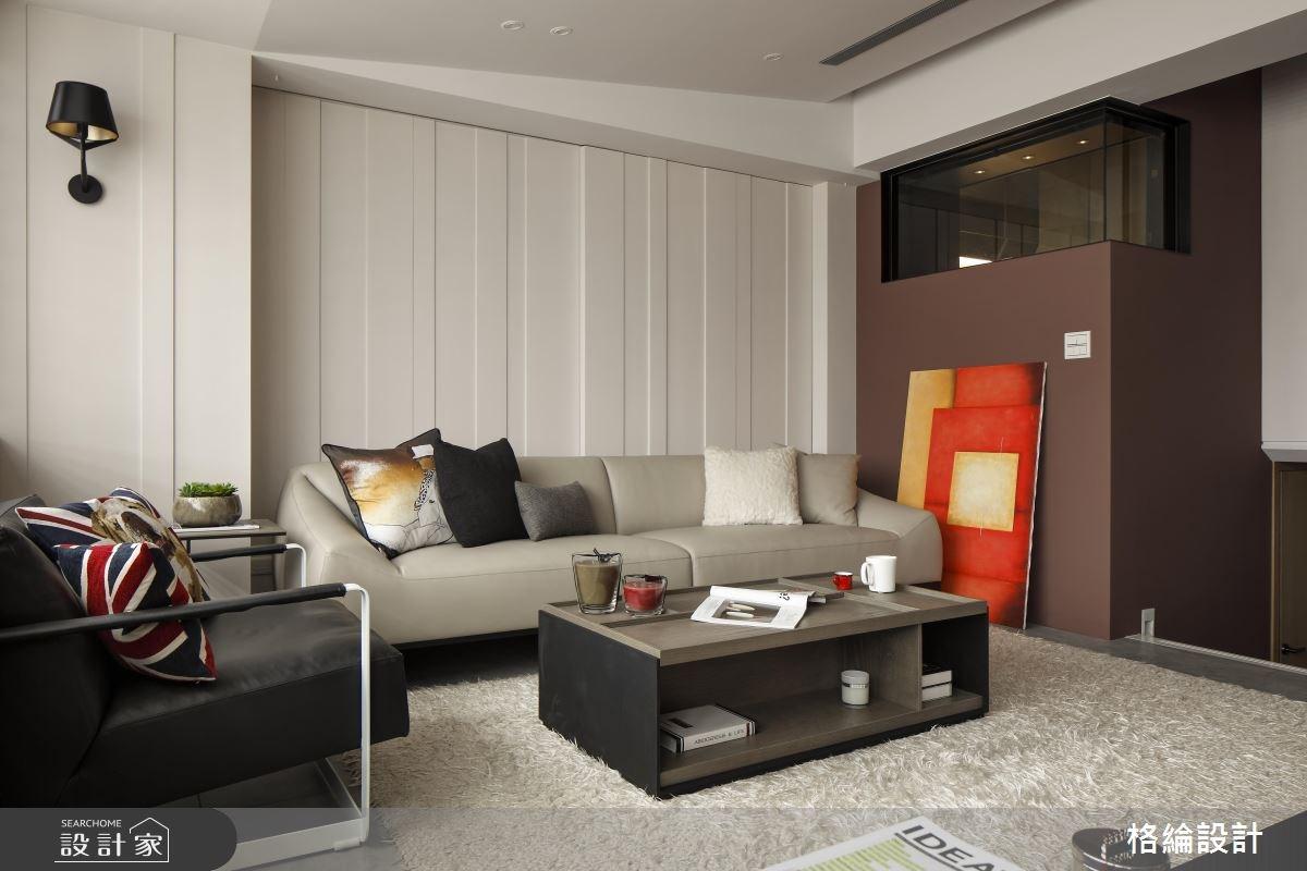 28坪老屋(16~30年)_簡約風客廳案例圖片_格綸設計 Guru Interior Design Consultant_格綸_14之3