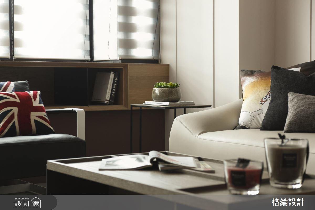 28坪老屋(16~30年)_簡約風客廳案例圖片_格綸設計 Guru Interior Design Consultant_格綸_14之4