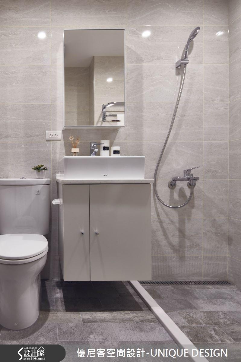 34坪老屋(16~30年)_北歐風浴室案例圖片_優尼客空間設計-UNIQUE DESIGN_優尼客_09之23