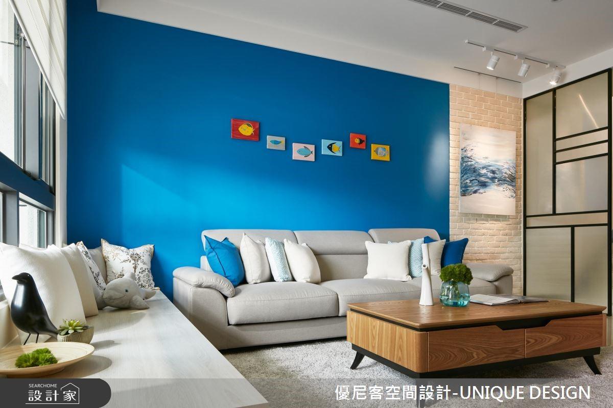 56坪新成屋(5年以下)_北歐風客廳案例圖片_優尼客空間設計-UNIQUE DESIGN_優尼客_30之1