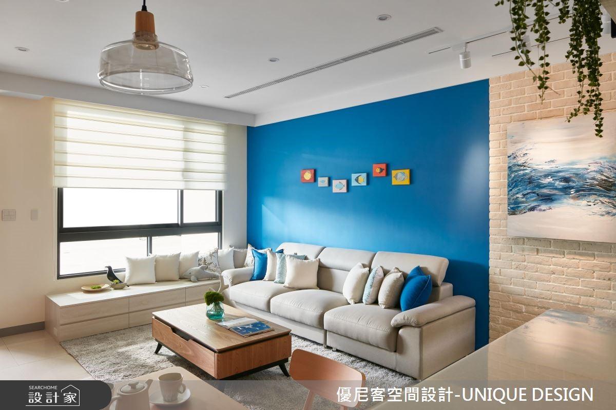 56坪新成屋(5年以下)_北歐風客廳案例圖片_優尼客空間設計-UNIQUE DESIGN_優尼客_30之3