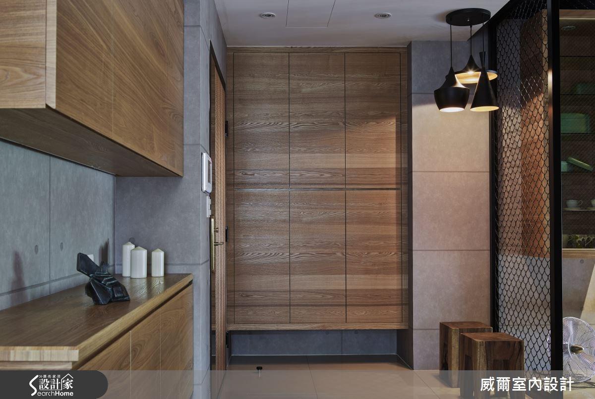 35坪新成屋(5年以下)_工業風案例圖片_威爾室內設計_威爾_13之1
