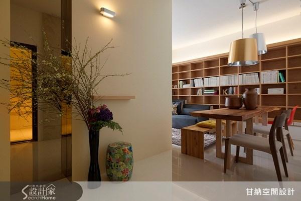 16坪新成屋(5年以下)_混搭風玄關案例圖片_甘納空間設計_甘納_03之1