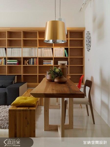 16坪新成屋(5年以下)_混搭風餐廳案例圖片_甘納空間設計_甘納_03之3