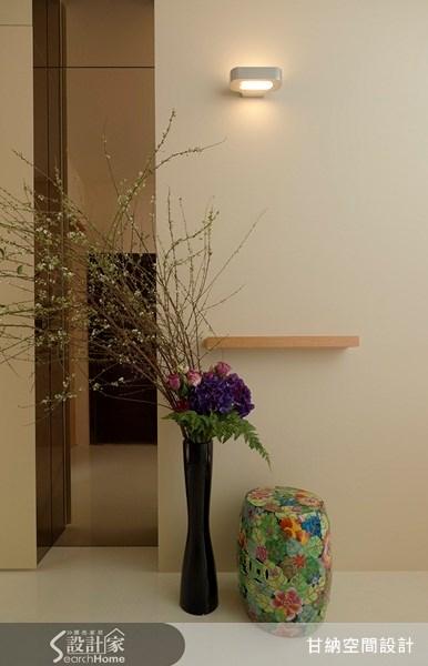 16坪新成屋(5年以下)_混搭風玄關案例圖片_甘納空間設計_甘納_03之2