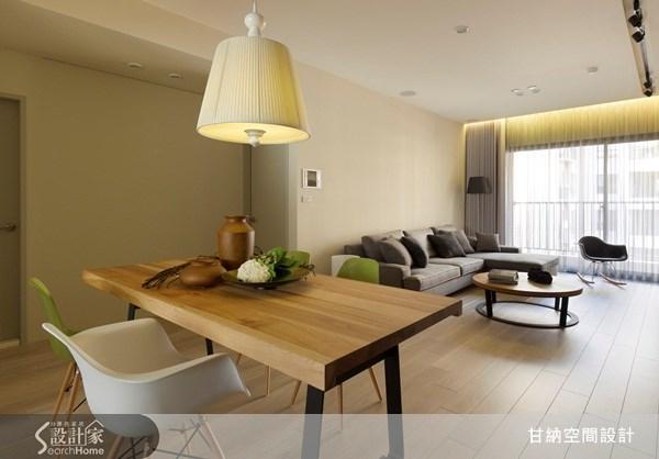 28坪新成屋(5年以下)_休閒風餐廳案例圖片_甘納空間設計_甘納_07之5