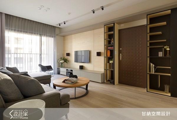 28坪新成屋(5年以下)_休閒風客廳案例圖片_甘納空間設計_甘納_07之1