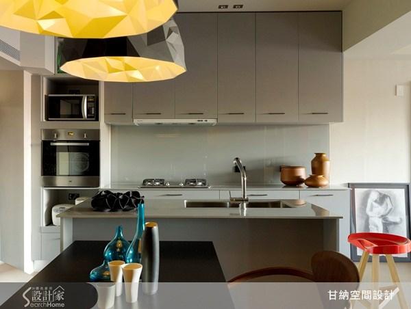 28坪中古屋(5~15年)_混搭風廚房案例圖片_甘納空間設計_甘納_08之3