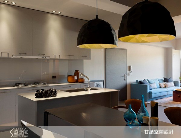 28坪中古屋(5~15年)_混搭風廚房案例圖片_甘納空間設計_甘納_08之4