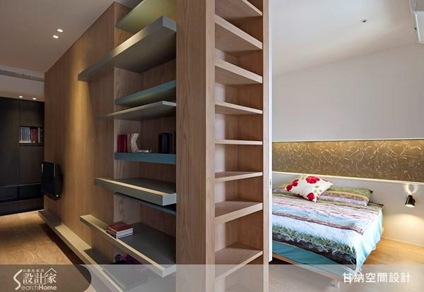12坪新成屋(5年以下)_休閒風臥室案例圖片_甘納空間設計_甘納_09之3
