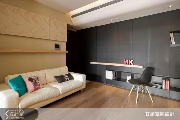 12坪新成屋(5年以下)_休閒風客廳案例圖片_甘納空間設計_甘納_09之2