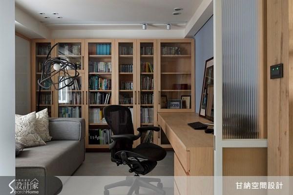 38坪老屋(16~30年)_現代風書房案例圖片_甘納空間設計_甘納_10之3