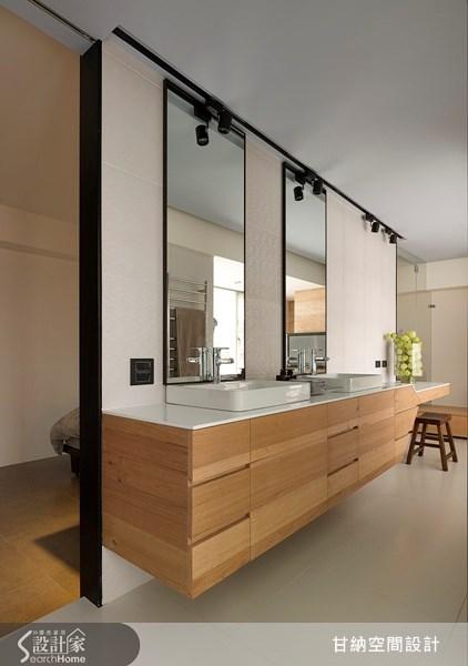 38坪老屋(16~30年)_現代風浴室案例圖片_甘納空間設計_甘納_10之4