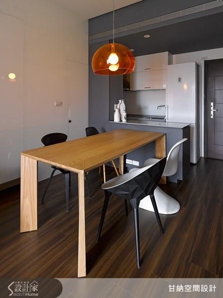 13坪新成屋(5年以下)_混搭風餐廳案例圖片_甘納空間設計_甘納_12之4