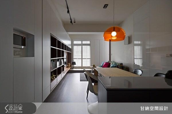 13坪新成屋(5年以下)_混搭風餐廳案例圖片_甘納空間設計_甘納_12之1