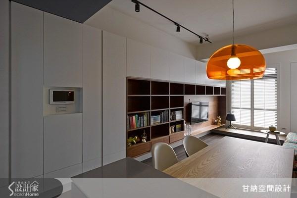 13坪新成屋(5年以下)_混搭風餐廳案例圖片_甘納空間設計_甘納_12之2