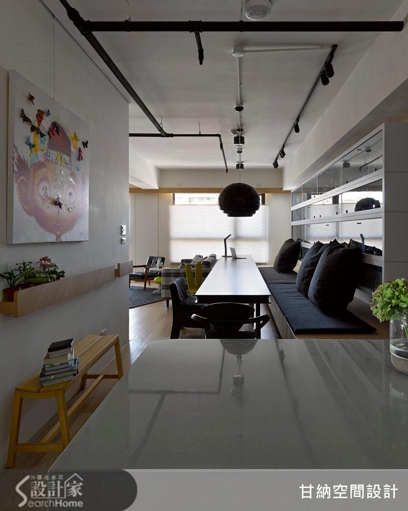 20坪新成屋(5年以下)_混搭風餐廳案例圖片_甘納空間設計_甘納_14之4