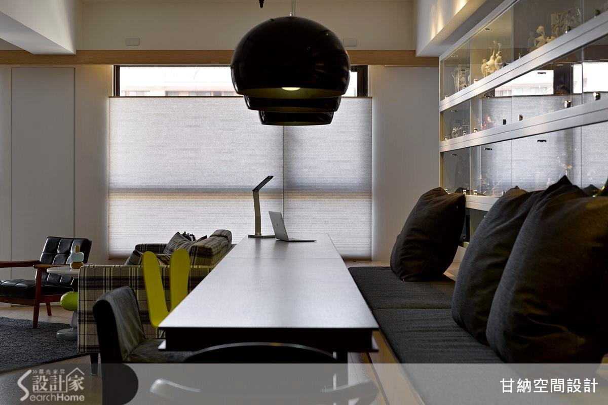 20坪新成屋(5年以下)_混搭風餐廳案例圖片_甘納空間設計_甘納_14之5