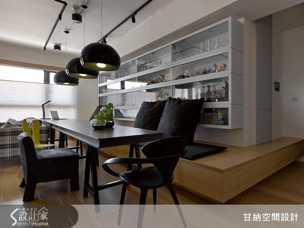 20坪新成屋(5年以下)_混搭風餐廳案例圖片_甘納空間設計_甘納_14之3