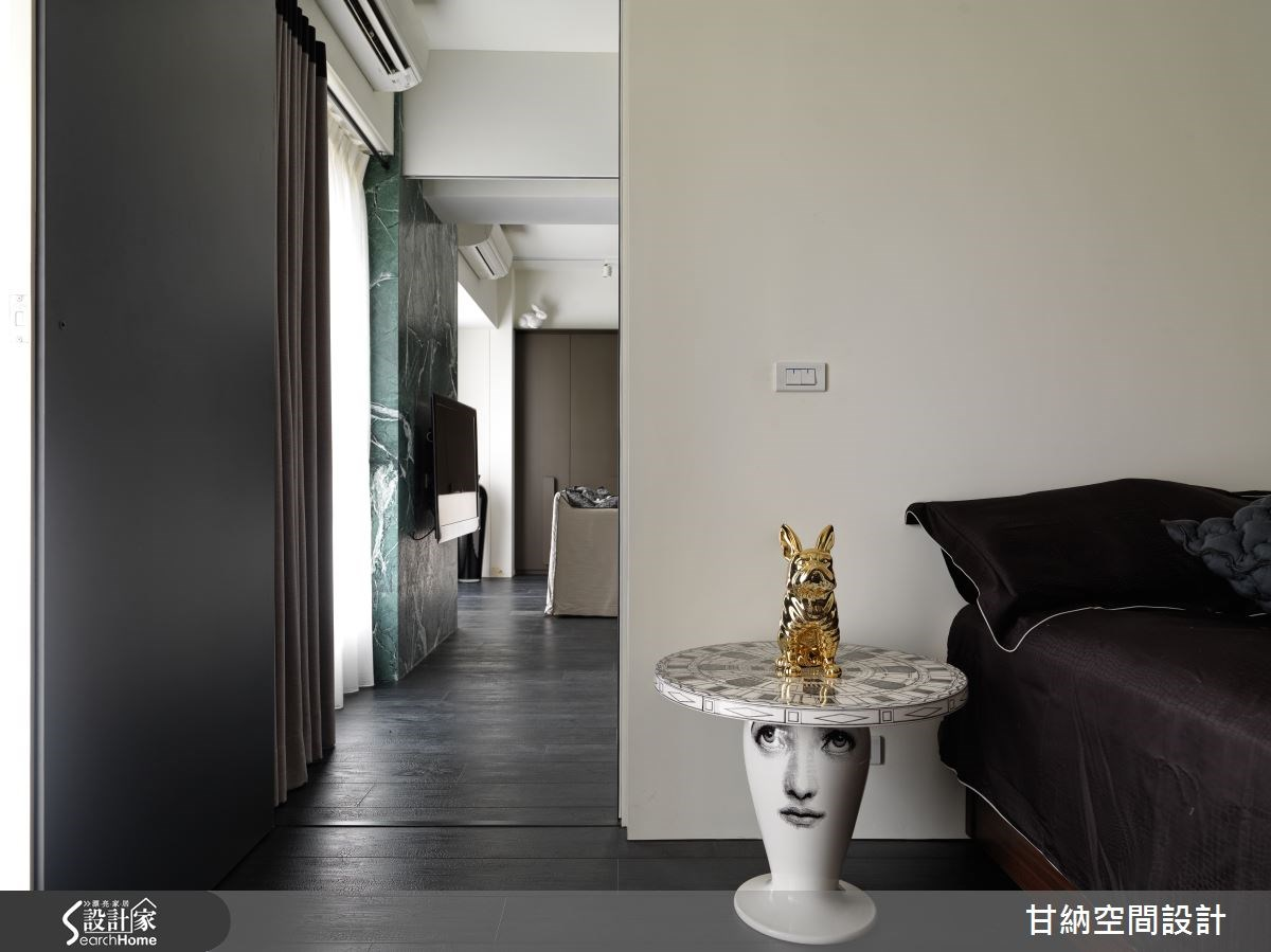 30坪新成屋(5年以下)_混搭風臥室案例圖片_甘納空間設計_甘納_19之18