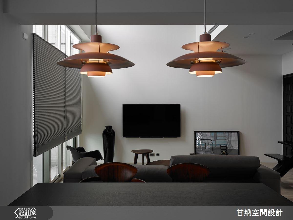 45坪中古屋(5~15年)_混搭風客廳案例圖片_甘納空間設計_甘納_20之1